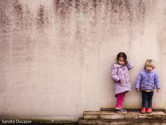 Anna & Tomas in our village, Winter 2014, Aude, France. Pic by Sandra Ducasse. www.fotovertical.com