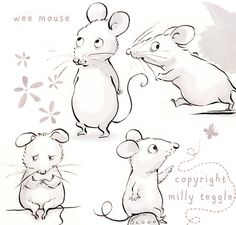 Wee Mouse by Milly Teggle