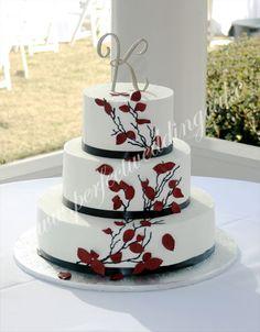 small 3 tier wedding cakes | Wedding Cake Gallery, Pictures of Wedding Cakes, Cake Decorator ...