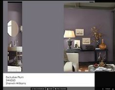 Best Ways to Use Exclusive Plum, Sherwin-Williams' Color of 2014