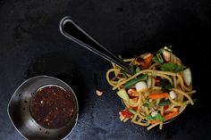Jagruti's Cooking Odyssey: Noodles and Peanut Salad !