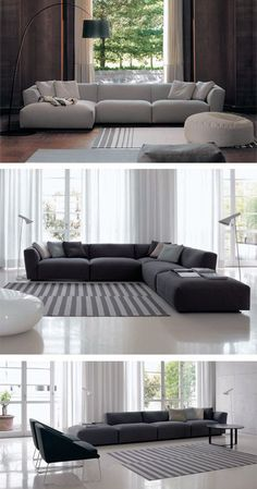 A Sofa Is The Heart Of A Living Room. Find Luxury, Contemporary  Inspirations To Help You Choose It!