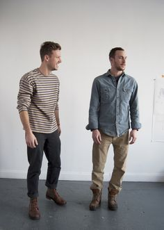 The dudes behind Fort Standard, furniture and toy design in Brooklyn. I think I'm in love.