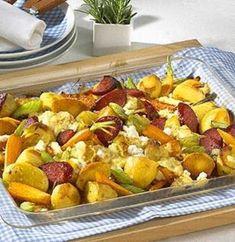 Unser beliebtes Rezept für Ofen-Gemüse mit Cabanossi und mehr als 55.000 weitere kostenlose Rezepte auf LECKER.de.