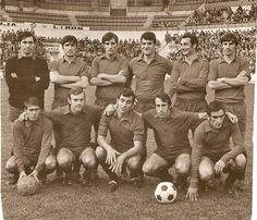 EQUIPOS DE FÚTBOL: SELECCIÓN DE NAVARRA contra Real Madrid 03/12/1970