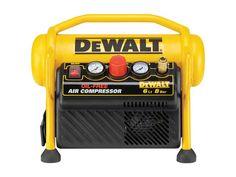DeWalt DPC6MRC-GB 230v 6L 1.5Hp Roll Cage Compressor