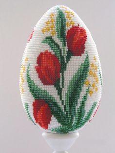 Вечные тюльпаны невероятной красоты из бисера - Ярмарка Мастеров - ручная работа, handmade