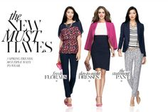 Must-Have Looks From Ann Taylor's Spring Collection. I like the flower patterned top