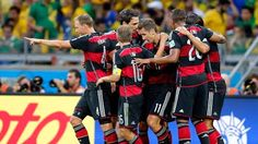[Highlights WC 2014] Bán kết 1: Brazil 1 - 7 Germany - 08/07