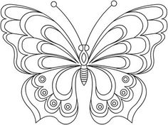 Butterfly Coloring Pages 24