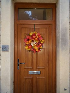 Autumn Door Wreath - Sincere Floral