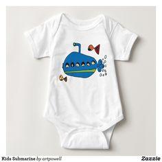 ubmarine Baby All In One Bodysuit