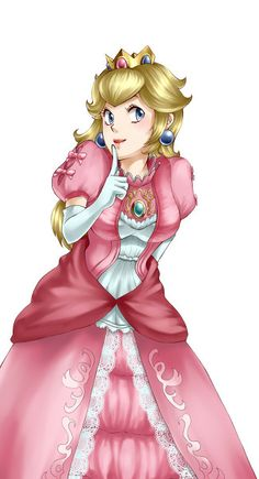 Super Smash Bros. Peach <3