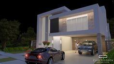 projeto de casa sobrado moderno no condominio alphaville campinas d pedro casa com 300 m2 e terreno de 15x30
