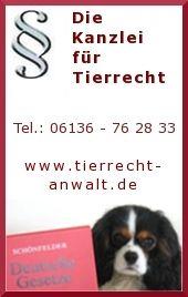 bundesweite Rechtsberatung: Tierrecht, Hunderecht,Tierarzthaftung...Recht rund um das Tier - Tierrechtskanzlei Ackenheil http://www.tierrecht-anwalt.de