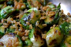 A few months ago I helped make food for my friend Friede's birthday party. I put together several different dishes, but most popular by far were these brussels sprouts - I have never had so many co...