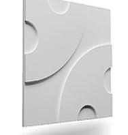 Gesso 3D, revestimento de paredes e painéis com placa de gesso 3D para arquitetura e decoração de interiores com ótimo acabamento e custo baixo para seu projeto