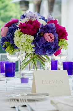 Purple-Pink-and-Green-Centerpieces1