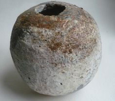 Priscilla Mouritzen  Pinched pot fired at Kohila.(woodfirer, via Flickr)