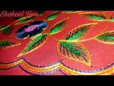 Cut Work Making HD Video - Part 1 of 2 | Indian Hand Embroidery - YouTube
