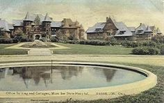 Vintage picture of Massillon State Hospital - great grandma worked here as a nurse attendant North Canton, Canton Ohio, Massillon Ohio, Vintage Pictures, Abandoned Places, Stark County, Mansions, Heartland, History
