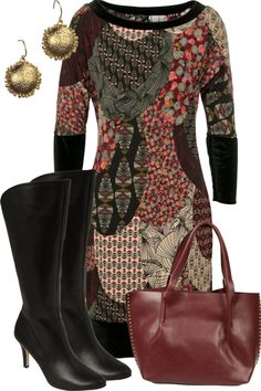 Patterened-long-sleeve-reversible-dress-jersey-girl-with-boots-smart-casual-outfit_brand_image