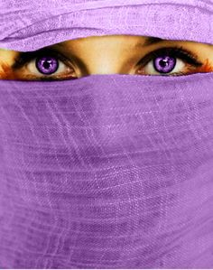 Purple is my favorite color.but I dont know about purple contacts these are beautiful on her Purple Love, All Things Purple, Purple Lilac, Shades Of Purple, Deep Purple, Purple Stuff, Light Purple, Pretty Eyes, Cool Eyes