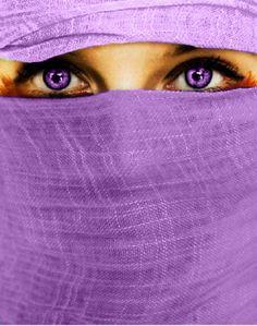 purple peek-a-boo