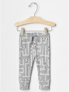 Ant tunnel banded pants | babyGAP