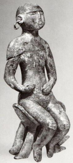 Hettite, metal figures, Horoztepe (Kurt Bittel) (Erdinç Bakla archive)