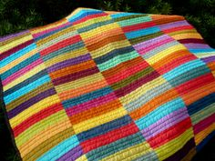 rectangles - hand dyed fabrics