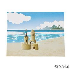 Build Your Own Sandcastle Sticker Scenes, Sticker Scenes, Stickers & Labels, Teaching Supplies & Stationery - Oriental Trading