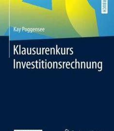Klausurenkurs Investitionsrechnung PDF
