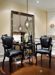 candice Olson design -great lighting and mirror