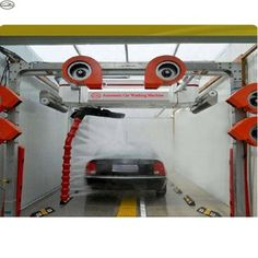 Source 2018 laser wash 360 New SIngle Arm No Brushes Touchless Car Wash With Dryer System on m.alibaba.com Electricity Consumption, Water Pump Motor, Car Wash Equipment, Bus Stop Design, Automatic Car Wash, Car Wash Business, Car Washer, Wash Brush, Garage Workshop