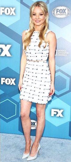 Kaitlin Doubleday wearing Pedro García style Aneley at Fox