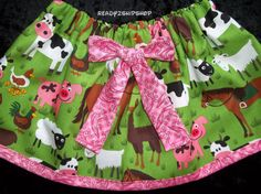 barnyard Birthday Party farm outfit dress up by Ready2ShipShop, $19.50