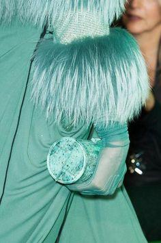 Jean Paul Gaultier at Paris Fashion Week Fall 2014 - Details Runway Photos Mint Green Fashion, Tiffany Blue Box, Dama Dresses, Turquoise Color, Pantone Color, Pantone Blue, Blue Aesthetic, Red Carpet Fashion, Jean Paul Gaultier