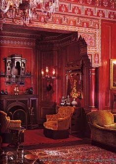 Orientalism interiors by Alberto Pinto...
