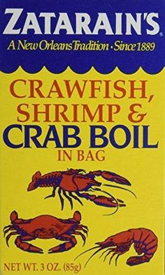 Zatarain's Dry Crab and Shrimp Boil, 3 oz