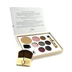 Color Sample Kit - Medium Dark (1xPressed Foundation, 1xBlush, 1xConcealer, 3xEye Shadow, 1xLipstick, 1xLip Gloss,...) - -