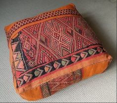 #tribal - love the uneven design and imperfect feel of this floor cushion. Perfect for yoga