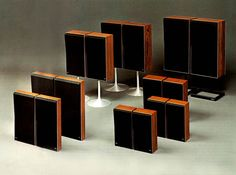 Beosystem 6000 Speaker Set-Ups. Vintage HiFi as beautiful as it gets! Visit http://beolover.com and http://beolover.blogspot.com if you are interested in the restoration of these beauties!