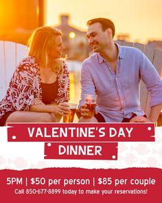 If oysters and Prime Rib be the food of love, we know where you should make reservations for Valentine's Day. Red Fish Blue Fish, Valentines Day Dinner, Prime Rib, White Sand Beach, Oysters, Love Food, The Best, The Good Place, Photo And Video