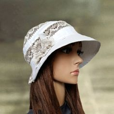 Hey, I found this really awesome Etsy listing at https://www.etsy.com/listing/292767143/linen-sun-hats-summer-womens-hats-white
