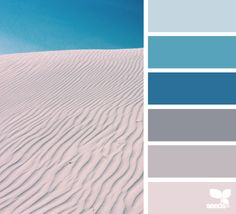 color sands  #paintpalettes  #blues #summercolors