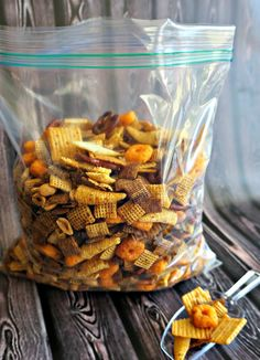 Make this super simple slow cooker snack mix and wow your guests with this addictive Cheez-It recipe!