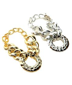 Gold Chain Link Bracelet Price $3.50