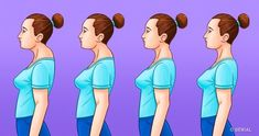 Posture – Upper Crossed Syndrome Upper Crossed Syndrome is a descriptive postural term coined by Dr. It is associated with other postural types such as Lower Crossed Syndrome and Layered Syndrome. Back Hump, Posture Exercises, Kyphosis Exercises, Workout Exercises, Stretches, Postural, Healthy Holistic Living, Perfect Posture, Bad Posture