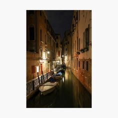 Venice at Midnight by ElusiveEdamame   Redbubble Warm Colours, Street Lamp, Top Artists, Old Houses, Venice, Tourism, Brick, Old Things, Painting